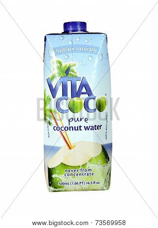 Bottle Of Vita Coco Coconut Water