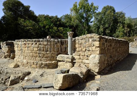 Ancient Synagogue Ruins, Israel