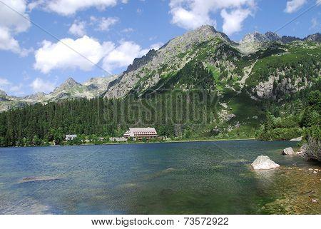 Poprad Lake In The High Tatras