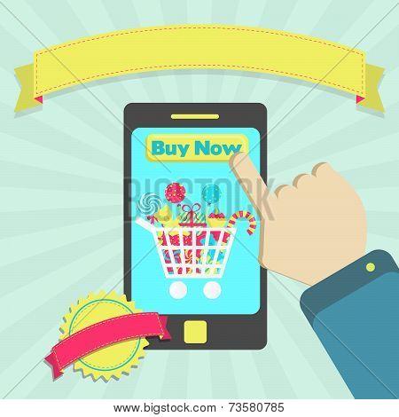 Buy Candies Online Through Phone
