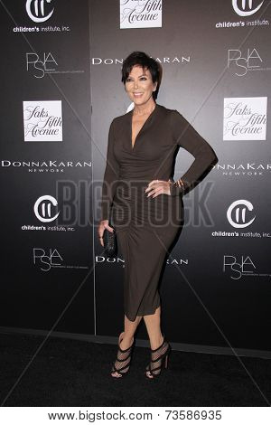 LOS ANGELES - OCT 8:  Kris Jenner at the 5th Annual PSLA Autumn Party at 3LABS on October 8, 2014 in Culver City, CA