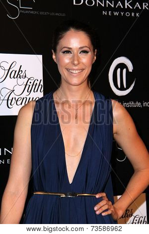 LOS ANGELES - OCT 8:  Amanda Crew at the 5th Annual PSLA Autumn Party at 3LABS on October 8, 2014 in Culver City, CA