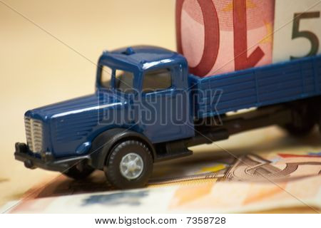 Truck On Money