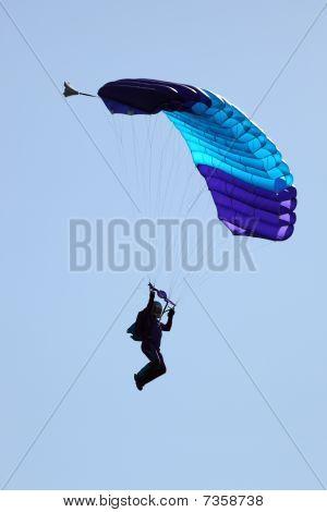 Sky Diver aterrizaje