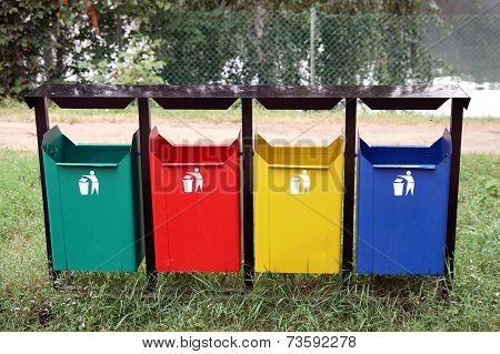 Containers For Separate Waste