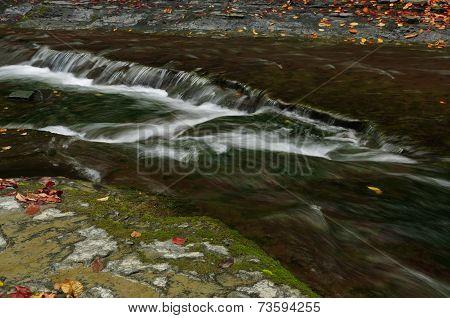 Cool rushing water