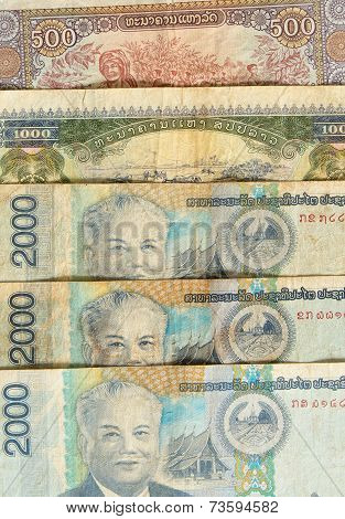 Kip Is The Currency Of Laos.