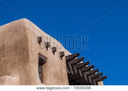 Adobe Building With Blue Sky