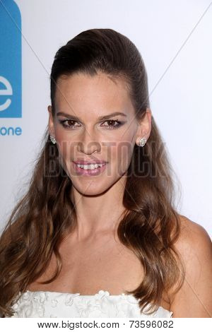 LOS ANGELES - OCT 8:  Hilary Swank at the