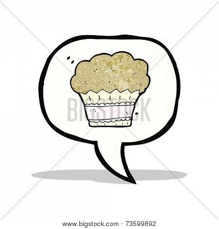 cartoon muffin symbol