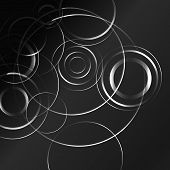 pic of hypnotizing  - Black and white hypnotic background - JPG