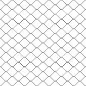 picture of chain link fence  - Repeating chain link fence - JPG