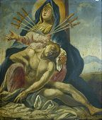 Постер, плакат: Пресвятой Девы Марии