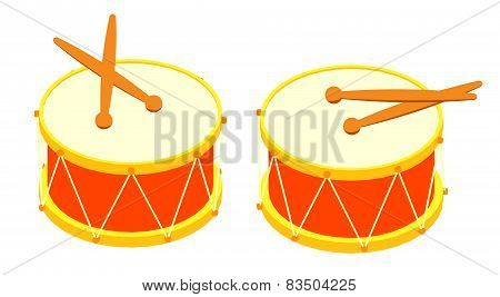 Drum and drum sticks