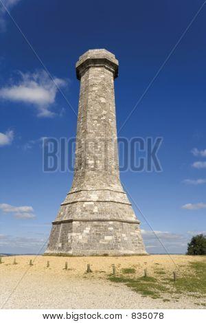 Ansichten vom Thomas hardy Monument Dorset England