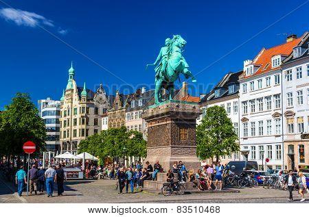 Absalon statue in Copenhagen