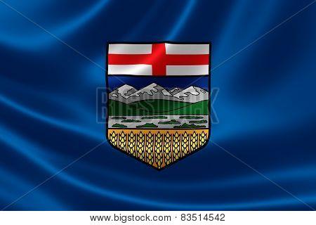 Alberta Provincial Flag Of Canada