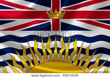 British Columbia Provincial Flag Of Canada