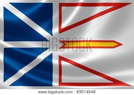Newfoundland & Labrador Provincial Flag Of Canada