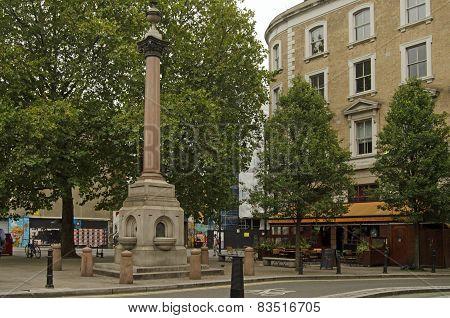 St Leonard Column, Hoxton