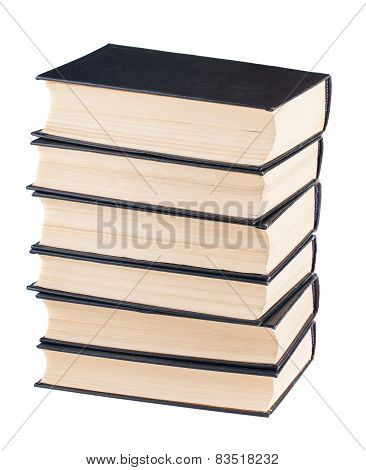 Six Black Cover Books