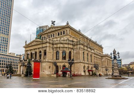 Alte Oper (old Opera) In Frankfurt, Germany