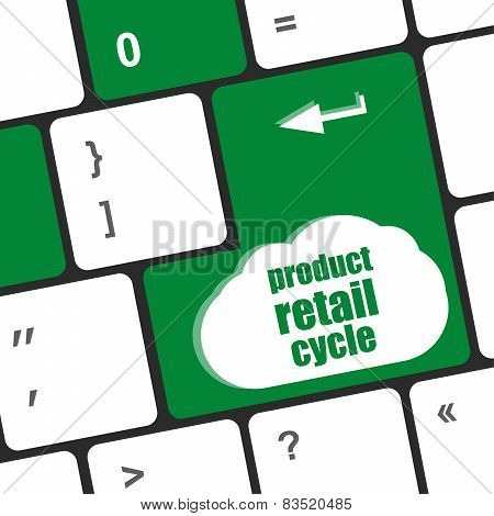 Product Retail Cycle Key In Place Of Enter Key