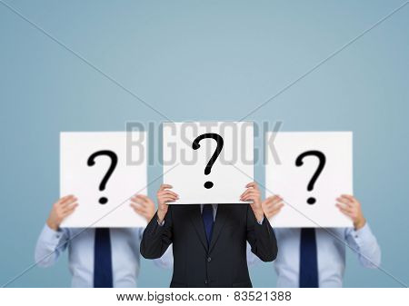 Poster With Question Mark