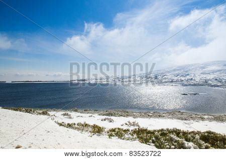 Mountain Lake, Serra Da Estrela, Portugal