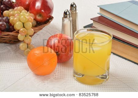 Orange Juice With Fruit