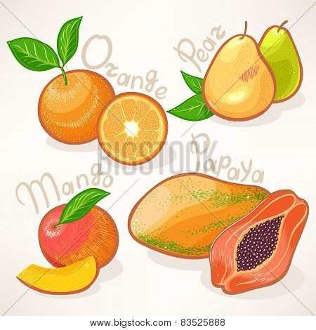 Exotic Fruits - 1