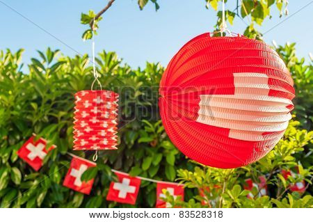 swiss outdoors decoration