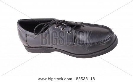 One Black Shoe Isolated