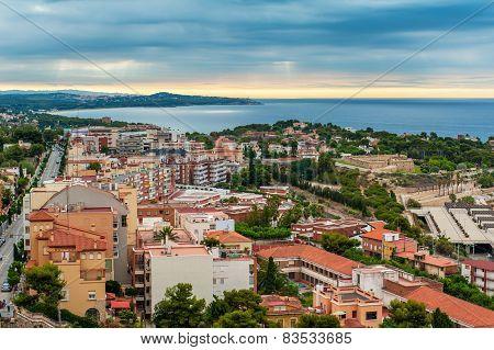 Ariel view of Tarragona, Spain