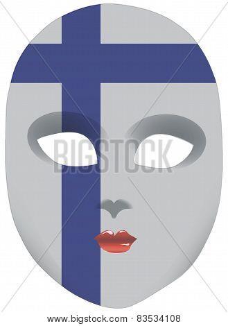 Finland Mask