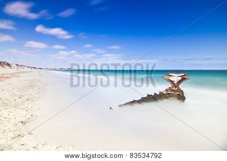 Ship Wreck at CY O'Connor Beach, Perth, Western Australia