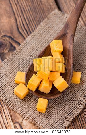 Pieces Of Cheddar