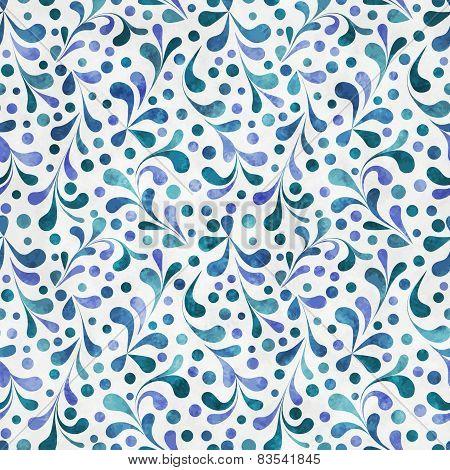 Watercolor Plantl Pattern