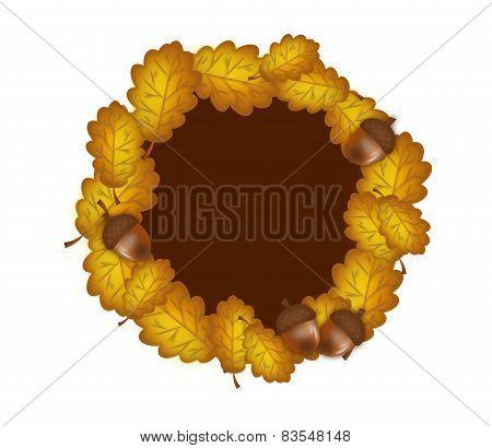Circle Of Oak Leaves