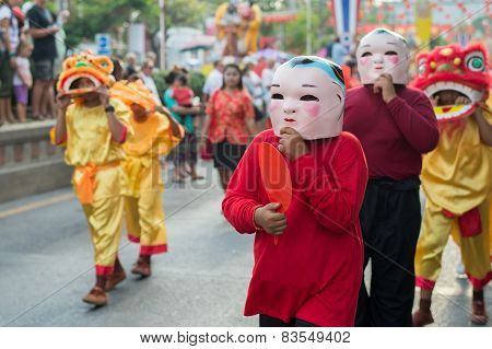 Chinese New Year celebration in Thailand