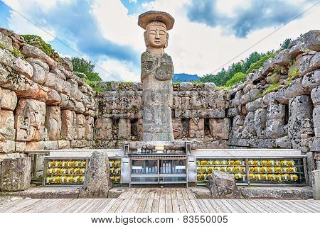 Big Or Giant Buddha Statue In Korea