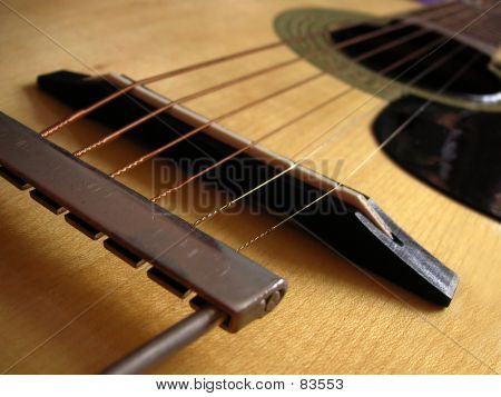 Guitar Macro poster