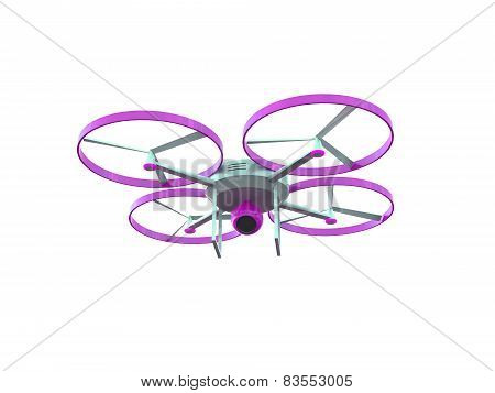 3D drone with camera