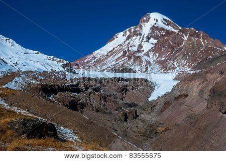 Mt Kazbegi 5033M