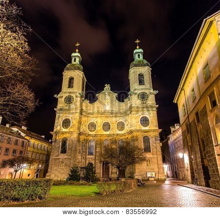 Cathedral Of St. James Of Innsbruck - Austria