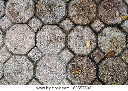 Octagonal And Square Brick Pavers
