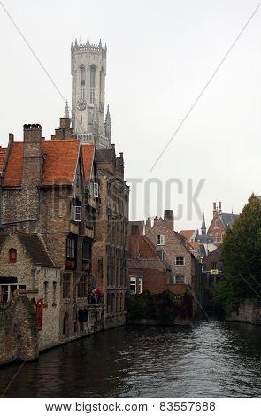 Rozenhoedkaai In The City Of Brugge