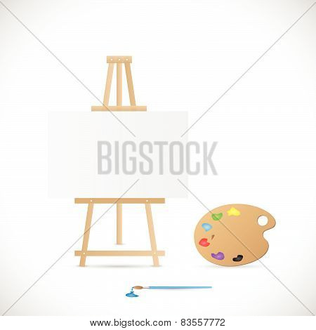 Painter's Palette Illustration