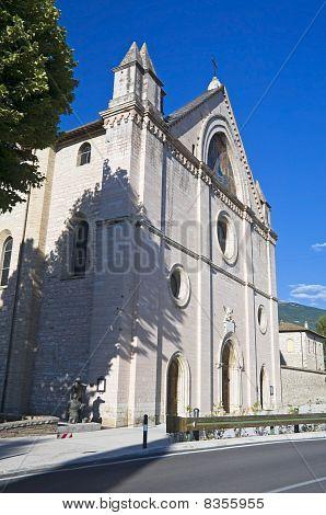 Sanctuary of Saint Maria in Rivotorto. Umbria.