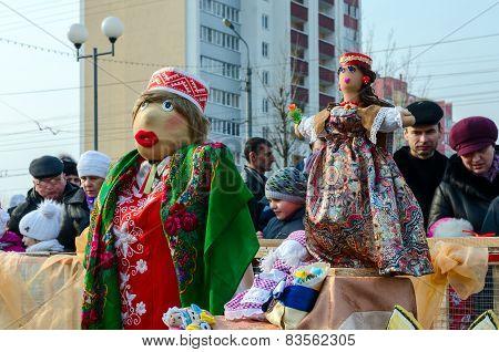 Shrovetide Dolls